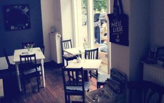 Café Neue Liebe Berlin - Inside