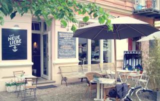 Café Neue Liebe Berlin - Outside