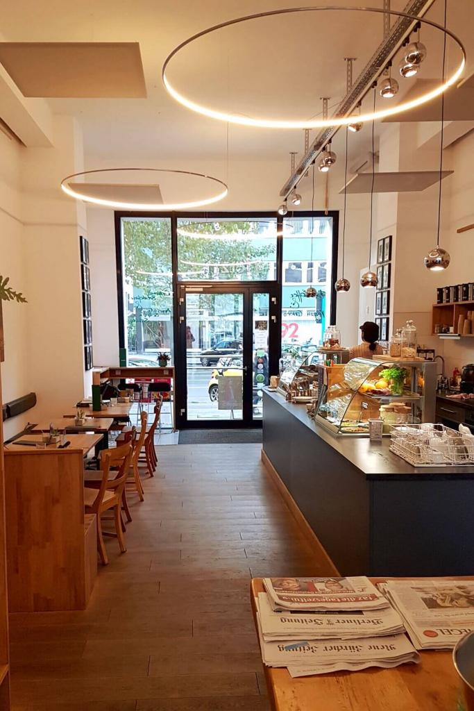 Café Tietz & Cie - Organic café in Berlin Tiergarten