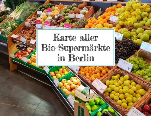 Karte aller Bio-Supermärkte & Naturkostläden in Berlin