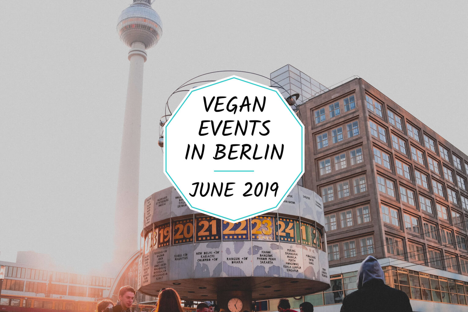 Vegan events in Berlin in June 2019