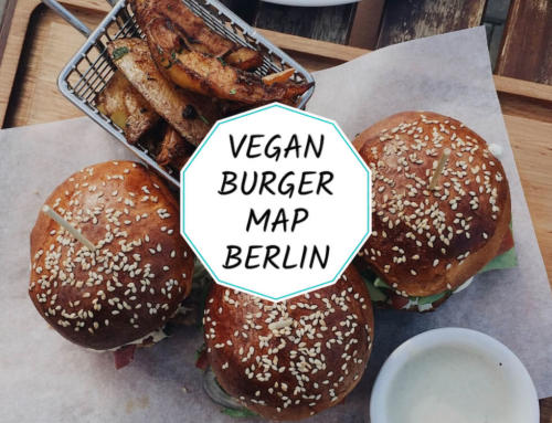 Vegan burger map of Berlin