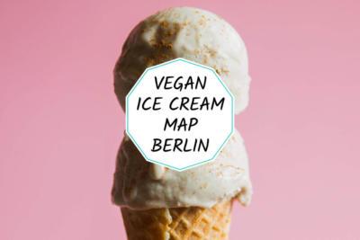 Vegan ice cream map of Berlin