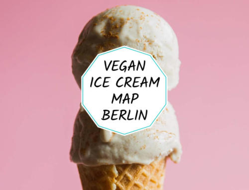 Vegan ice cream map of Berlin