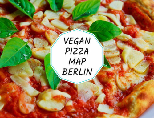 Vegan pizza map of Berlin